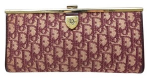 Dior Clean Interior Bordeaux Clutch