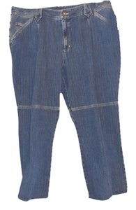 Liz Claiborne Stretch Straight Leg Jeans-Medium Wash