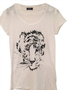 Lauren Moshi Tiger T Shirt White