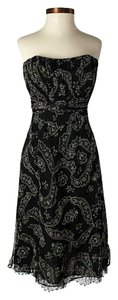 Nanette Lepore short dress Strapless Silk Paisley on Tradesy