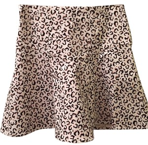 Tibi Mini Skirt Brown