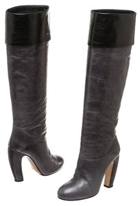 Miu Miu Gray/Black Boots