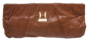 Halston Brown Clutch