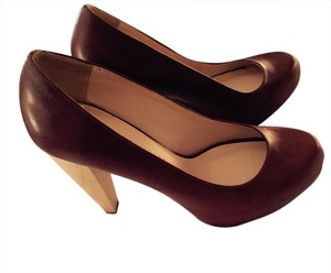 Loeffler Randall Tobacco/Cognac/Wood Pumps