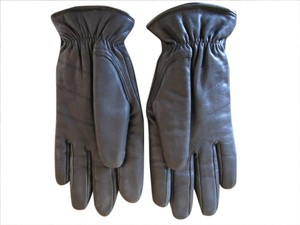 Wilsons Leather Black Genuine Leather Driving Gloves by Wilson Leather - Medium