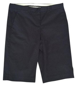 Theory Knee Length Bermuda Shorts Black