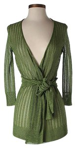 Tracy Reese Open Belted Cardigan