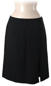 Moschino Wool Blend Skirt Black