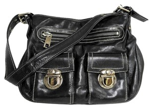 Marc Jacobs Leather Iconic Hardware Shoulder Bag