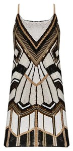 Alice + Olivia Embellished Luxury Beaded Dress