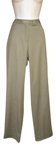 Worth Wool Classic Straight Pants Green
