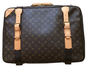 Louis Vuitton Lv Luggage Luggage Travel Satellite 53 Case Brown Travel Bag