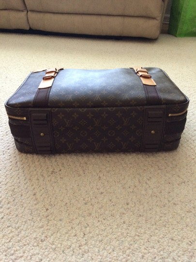 Louis Vuitton Lv Luggage Luggage Satellite 53 Case Brown Travel Bag