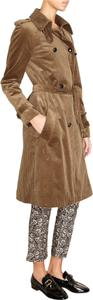 Étoile Isabel Marant Corduroy Trench Buttons Fall Bronze Jacket