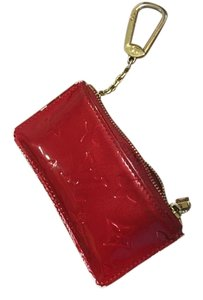 Louis Vuitton Wristlet in Red Patent