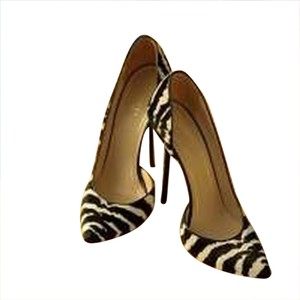 Gucci Heels Zebra, Black And White Pumps