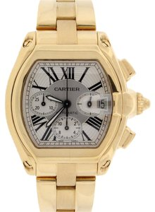 Cartier Cartier Roadster Chronograph 18K Gold Watch W62021Y2 Box&Papers $32,100 ESW