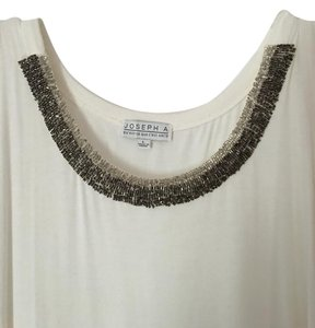 95% Rayon Top WHITE AND SILVER