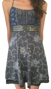 Free People short dress Classy Boho Print on Tradesy