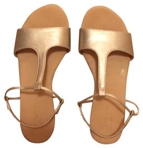 Ann Taylor LOFT Light gold with beige Sandals