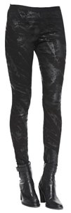 Helmut Lang Leggings Printed Skinny Pants Black