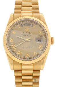 Rolex Rolex Day-Date 118238 18K Yellow Gold 36MM Automatic Mens Watch,