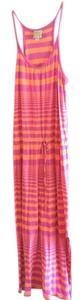 pink and orange Maxi Dress by C&C California