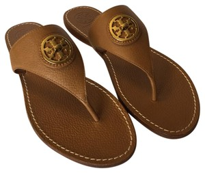 Tory Burch Flats Royal Tan Sandals