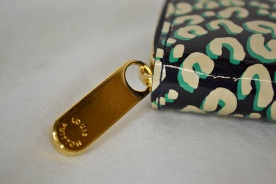 Louis Vuitton Authentic New Limited Edition Louis Vuitton Green Leapord Zippy Wallet Image 5