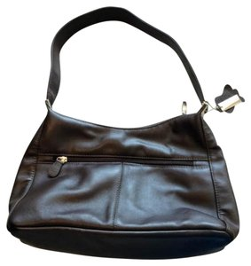Kim Rogers Leather Shoulder Bag