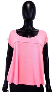 H.I.P. Oversized Empire Waist T Shirt Pink