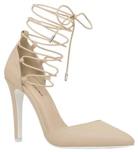 Call It Spring Lace Up Heels Lace Up Heels Lace Up Sandal Nude Formal