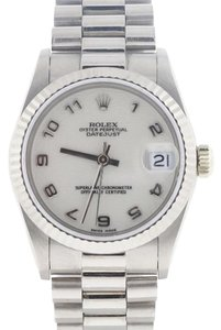 Rolex Rolex President Midsize Original Jubilee Dial White Gold 31MM 68279