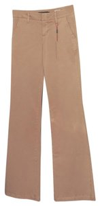 Level 99 Wide Leg Khaki Tall Long Khaki/Chino Pants Tan