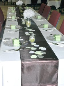 20 Brown Table Runners 12