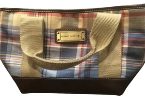 Tommy Hilfiger Plaid Pattern Clutch