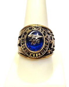 US NAVY Sterling Silver Ring