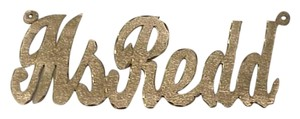 Other 14K SOLID YELLOW GOLD Personalized Custom Name