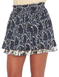 Derek Lam Mini Skirt Paisley
