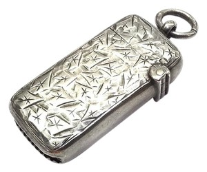 Other Vintage Sterling Silver Case for Matches