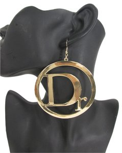 Other New Women Earrings Set Large Gold Hoop Metal Hook Dr Trendy Hip Hop Fashion