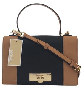 Michael Kors brown/black Messenger Bag