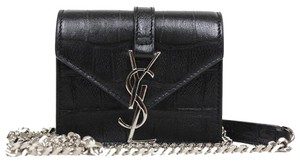 Saint Laurent Ysl Candy Monogram Leather Cross Body Bag