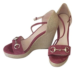 Gucci Dry Rose Wedges