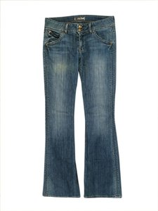 Hudson Jeans Regular Rise Boot Cut Jeans-Medium Wash