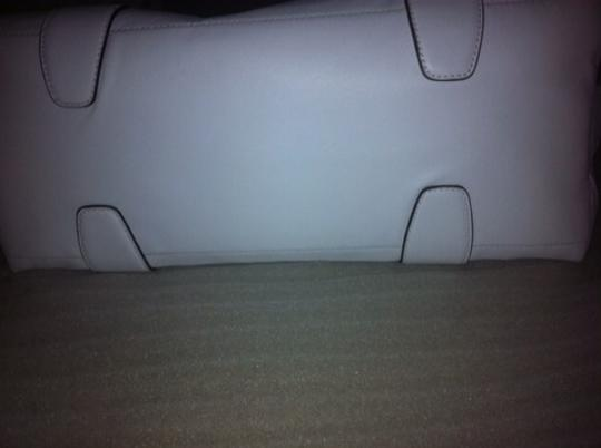 Coach Satchel in White /Silver Image 1