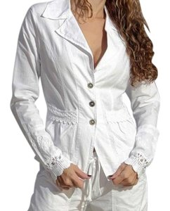 Lirome Cottage Chic Spring Resort White Jacket