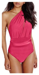 SUMMER SALE New Rose Multi Way Style One PC Swimsuit 8-10