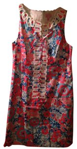 Lilly Pulitzer short dress red and blue Designer on Tradesy