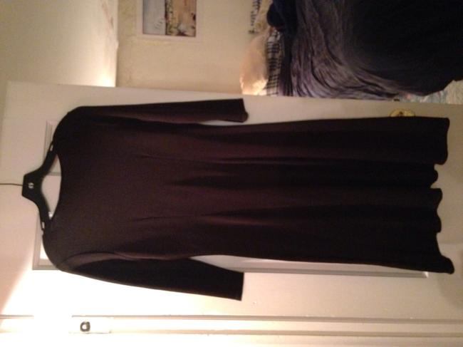 Ann Taylor short dress brown Work A Line Knit on Tradesy Image 3